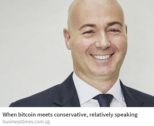 Business Times Singapore article features BitSpread