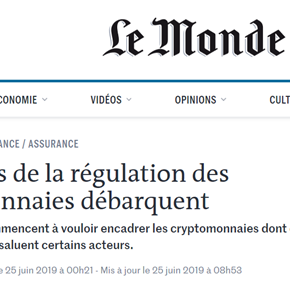 Le Monde: BitSpread's Lionel Fournier lends his voice to Facebook's 'crypto money'